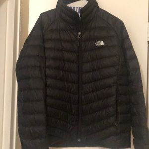 North Face Coat, Size woman's large.